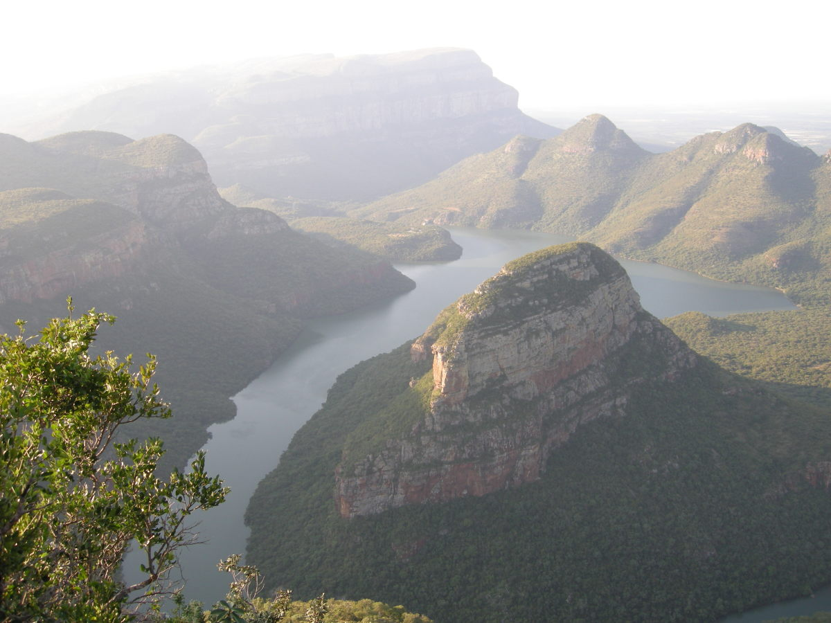 Blyde River Canyon View from the top
