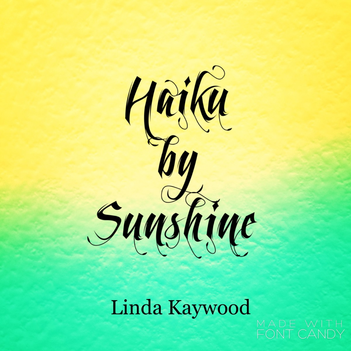 A book of haiku that will help bring on the sunshine!