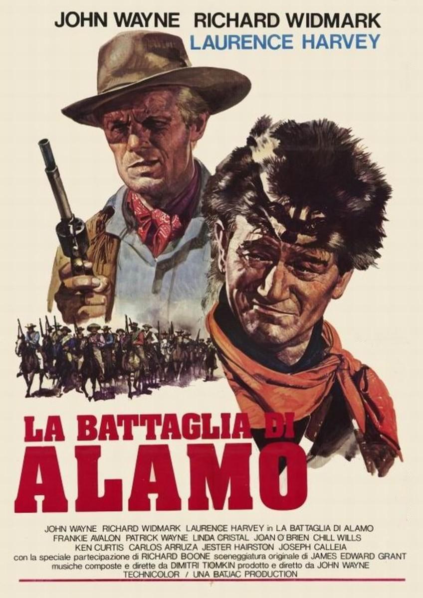 The Alamo (1960) Italian poster
