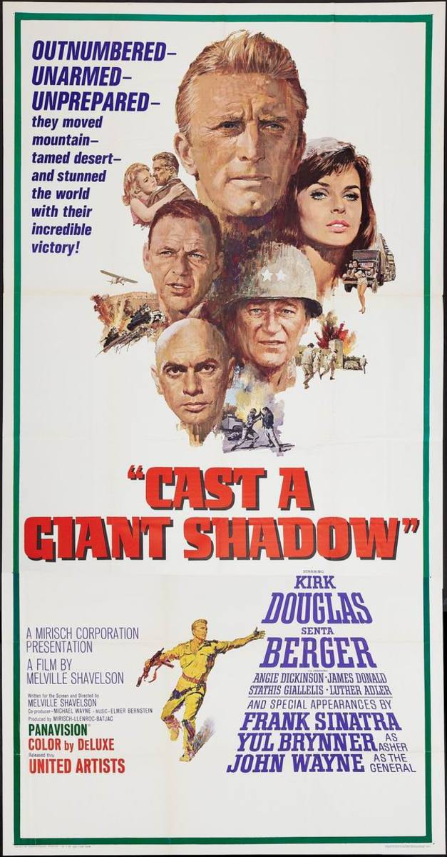 Cast a Giant Shadow (1966)