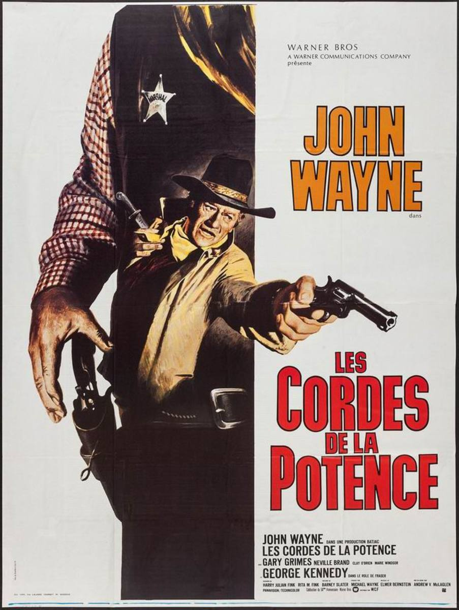 Cahill US Marshall (1973) French poster