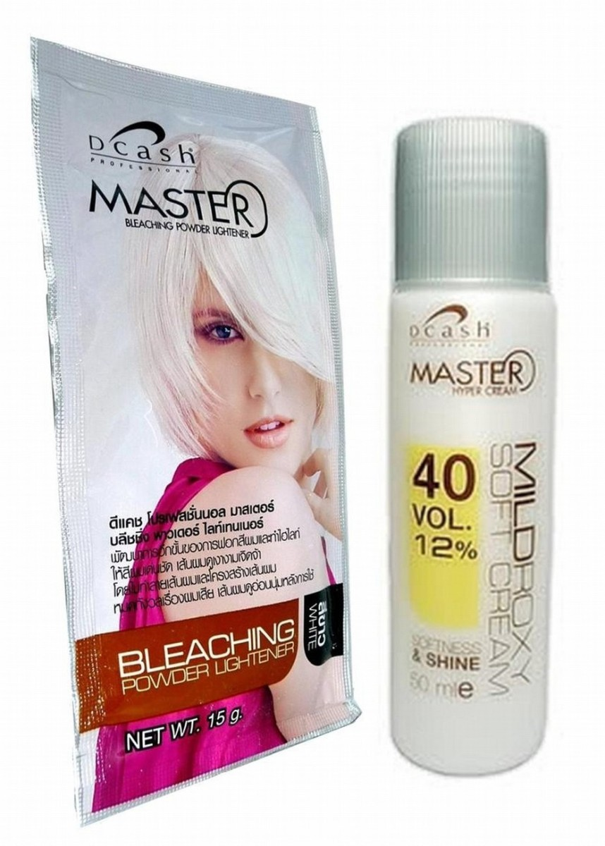 Hair bleaching supplies