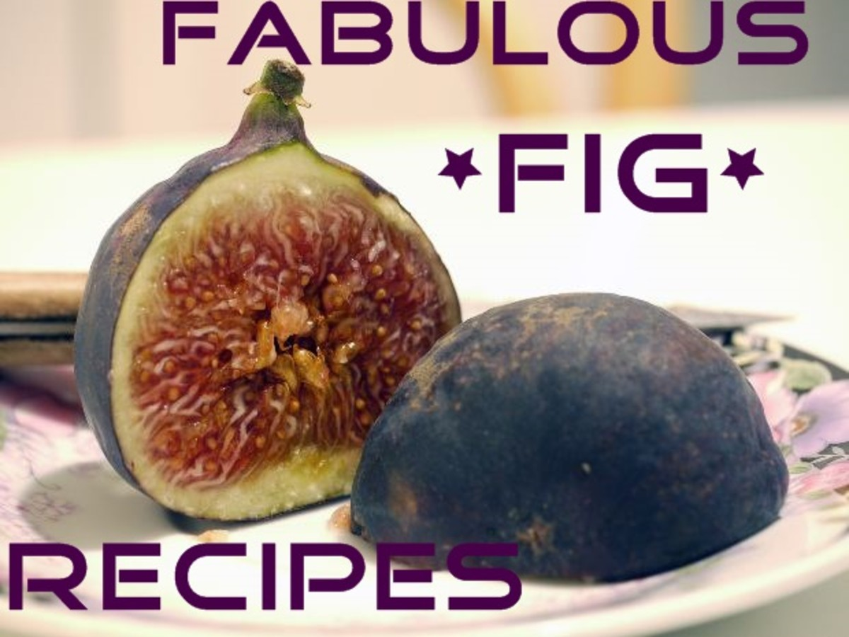 You will love this wonderful and delicious variety of fresh fig recipes. Appetizers, breads, muffins, cakes, desserts, and even a smoothie!