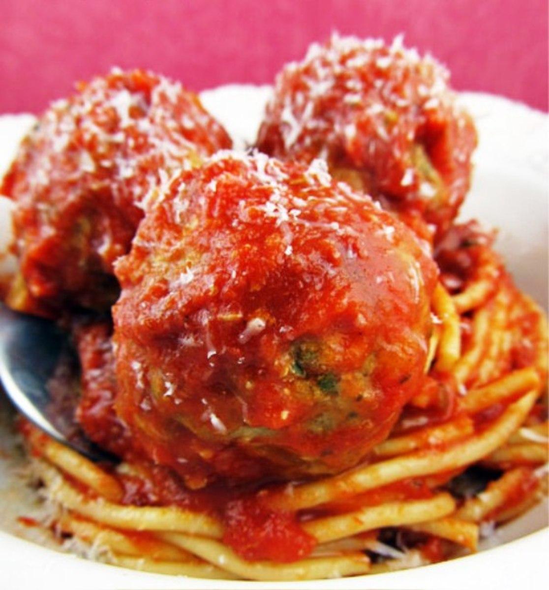 Ricotta Cheese meat balls