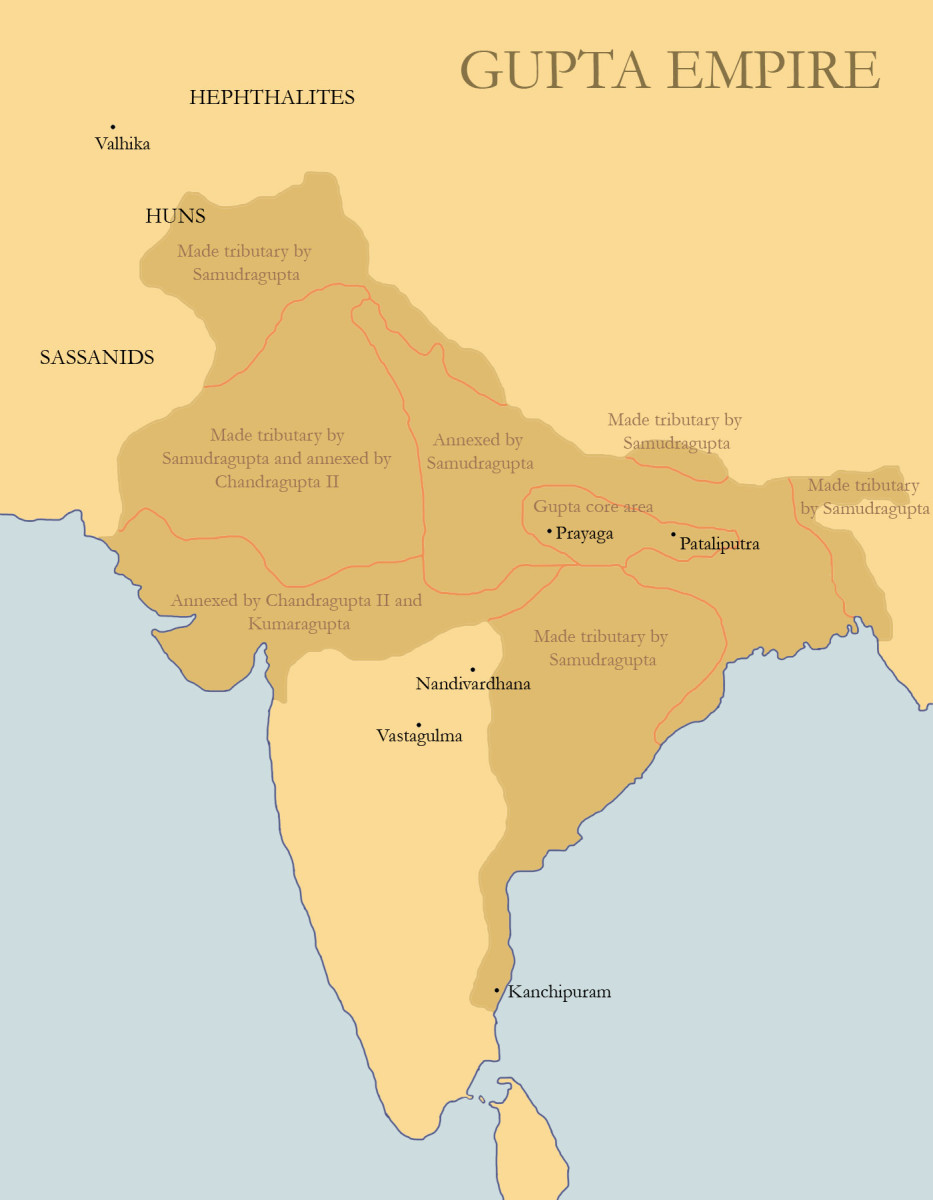 political methods of control of the gupta empire and imperial rome This political and military unity used regional governors to control justice and chandragupta maurya established the imperial capital at internal trade within the empire flourished as well the political unity allowed people from different areas of mauryan india to travel and sell.