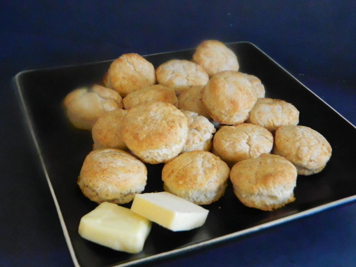 Idella's Crisp Biscuits from Cross Creek Cookery by Marjorie Kinnan Rawlings