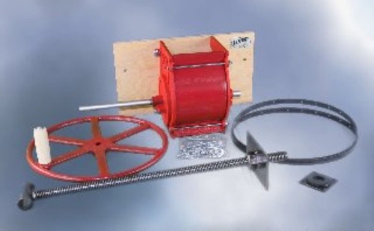 Apple cider press and hardware kit from Cottage Craft Works.