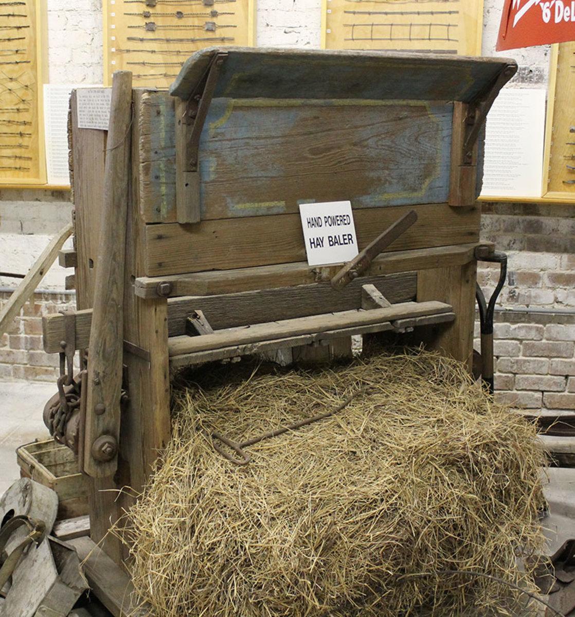 Hay Bale Maker
