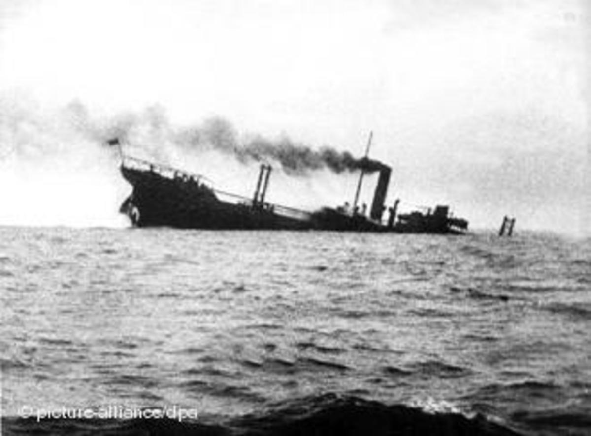 Another ship torpedoed - name unknown