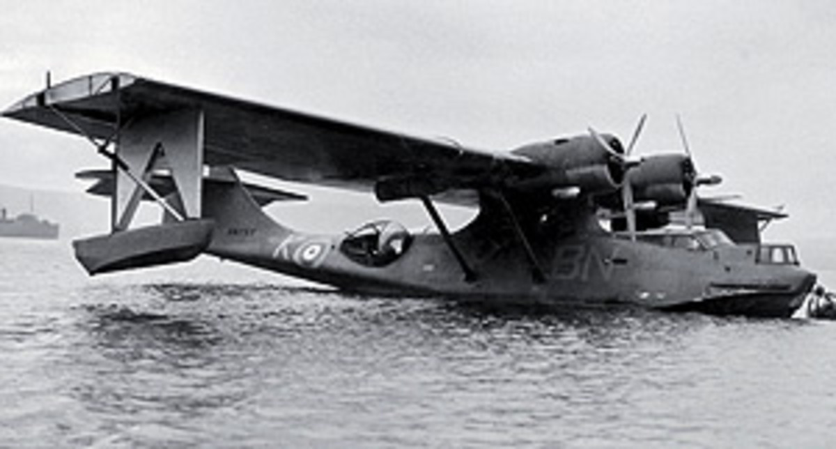 Catalina RAF 240 squadron based in Russia