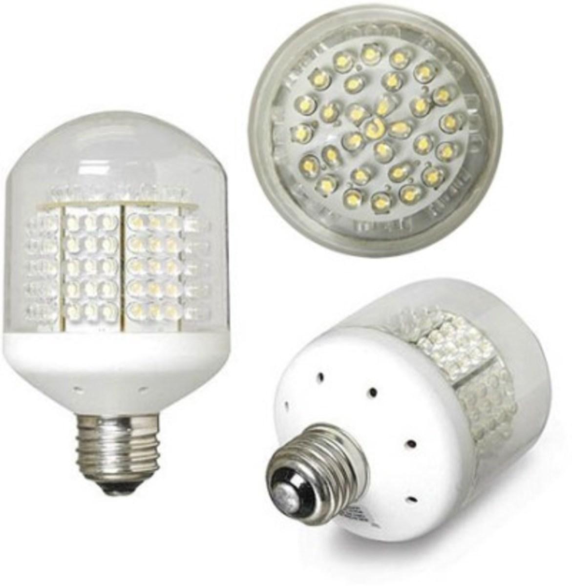 More LED light designs for home interior lighting