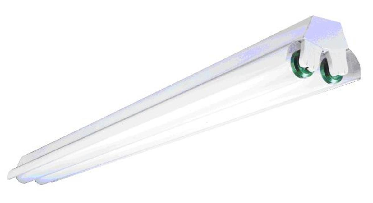 The original fluorescent light design for office and commercial uses