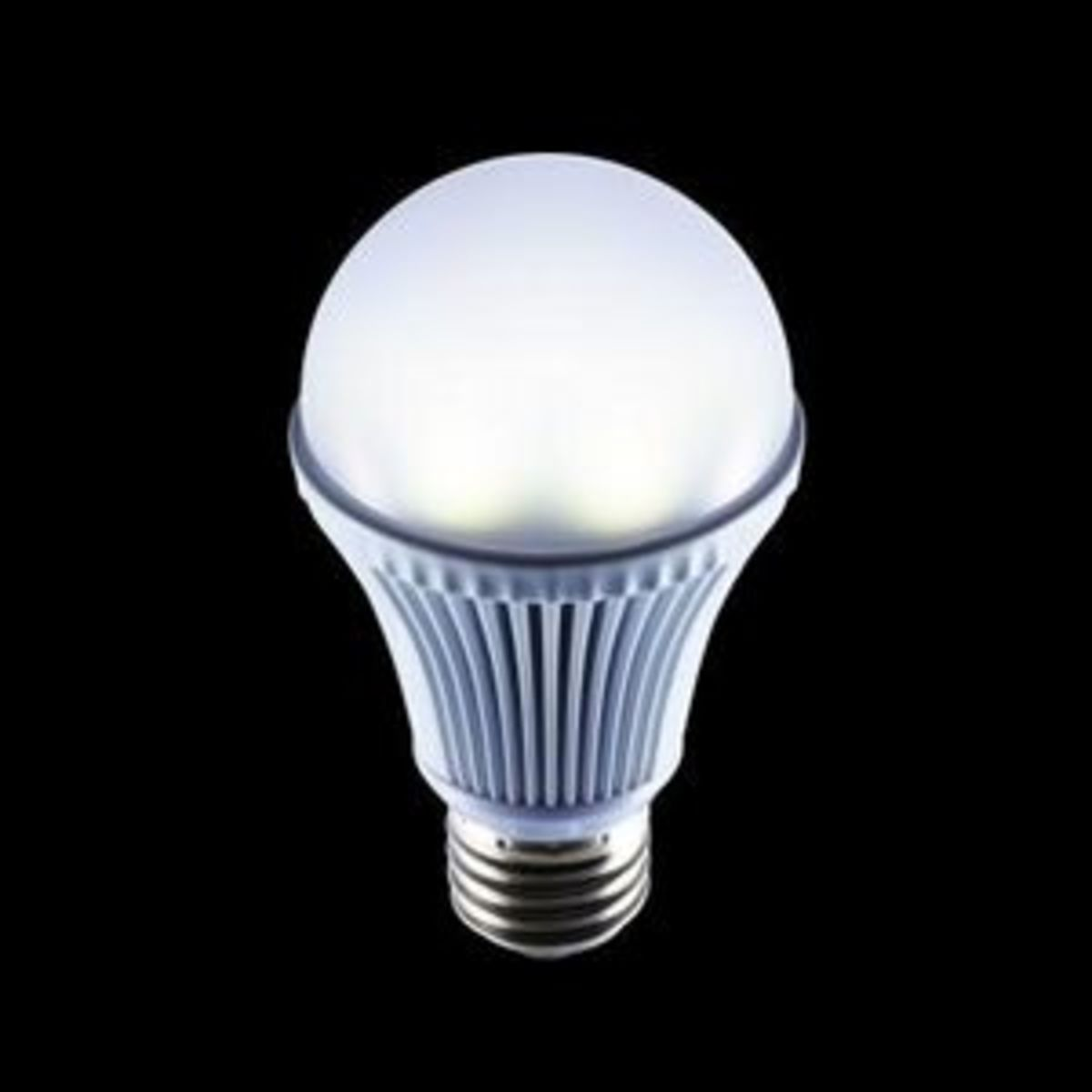 A typical LED light for home interior lighting