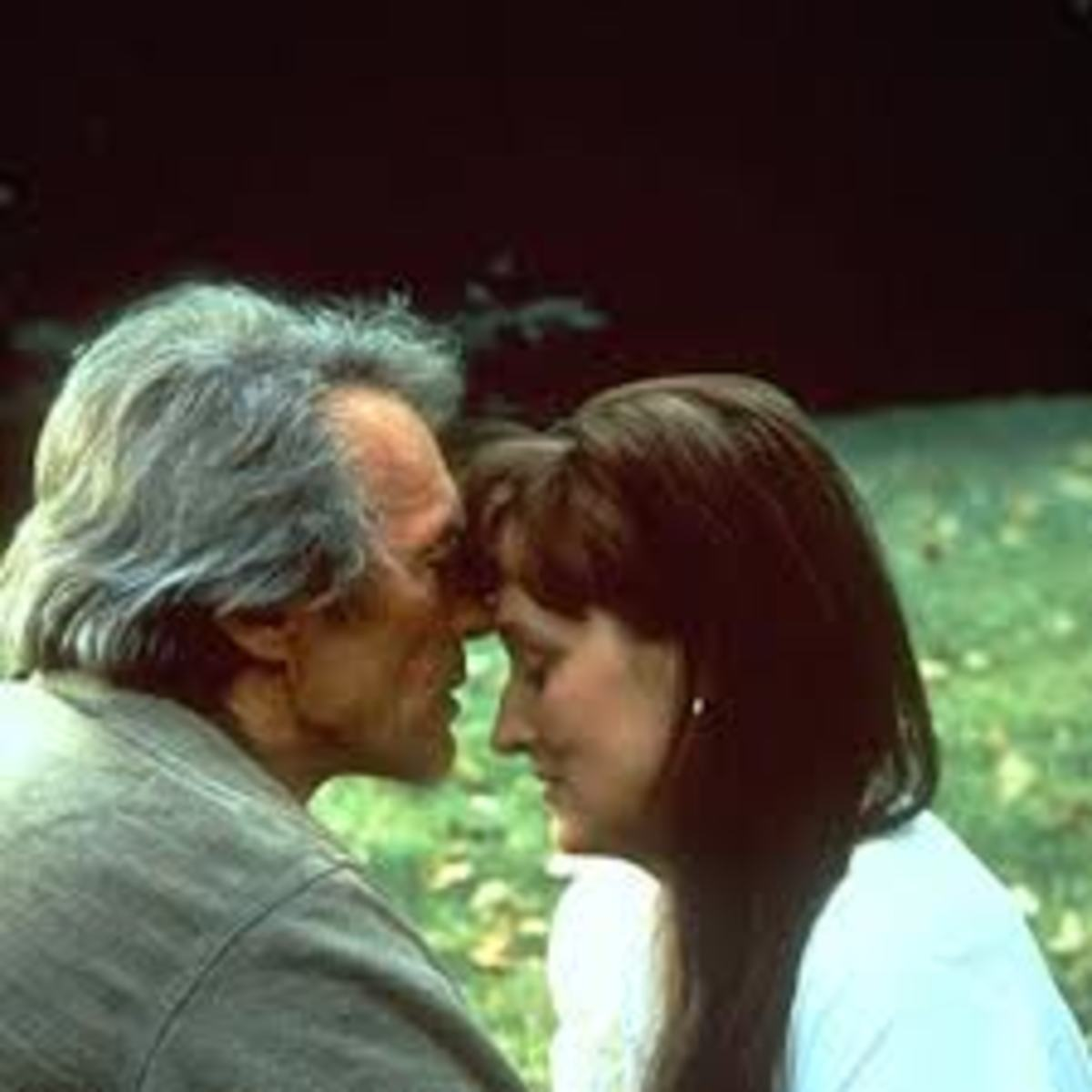 Robert and Francesca, the main characters of the movie Bridges of Madison County