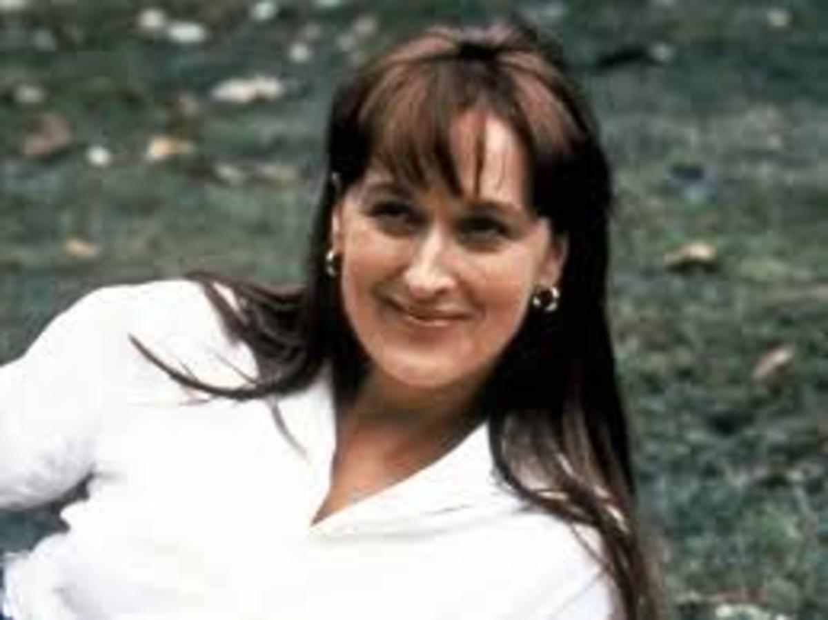 Meryl Streep as Francesca Johnson in the movie Bridges of Madison County