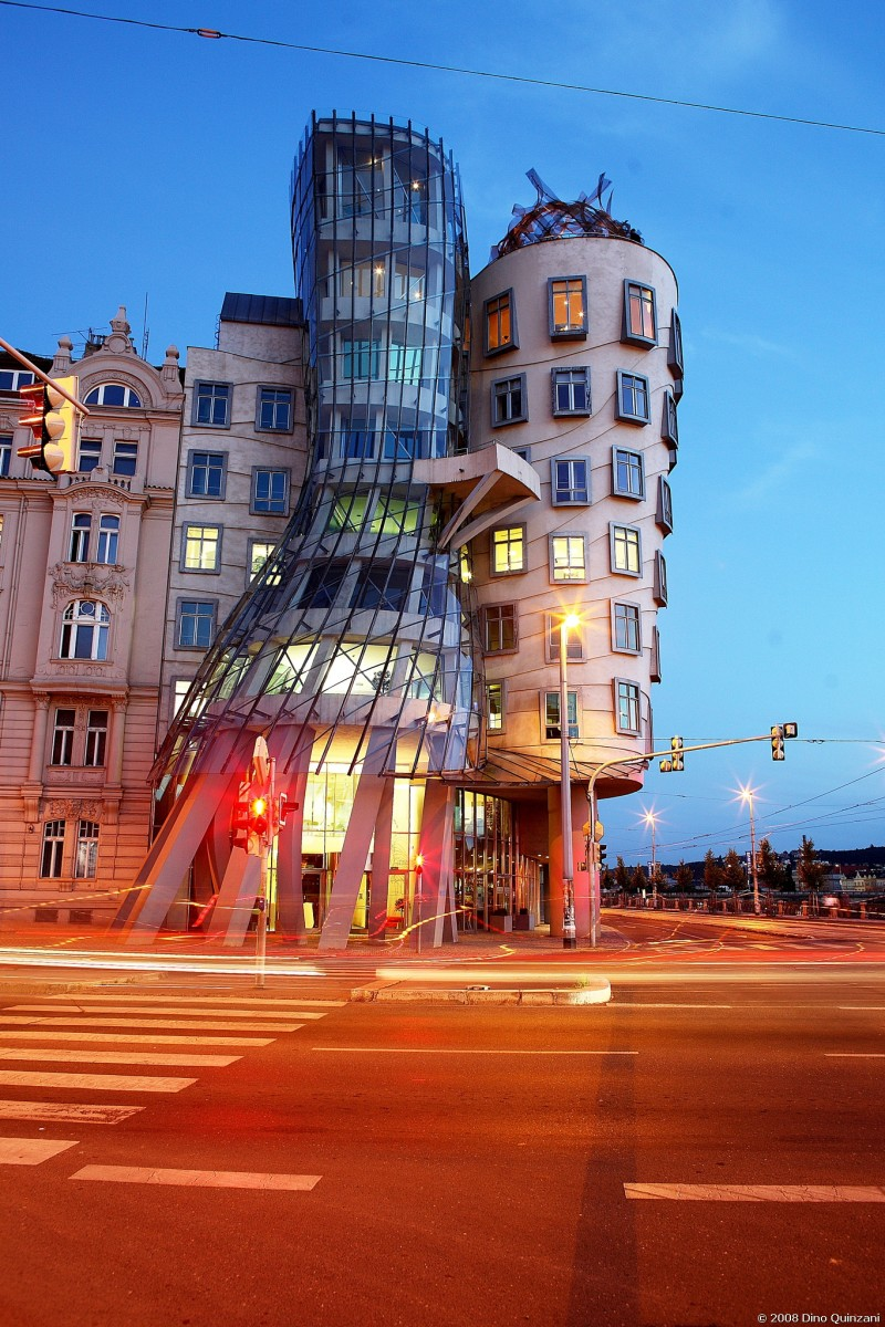 Dancing house---Believe it or not!