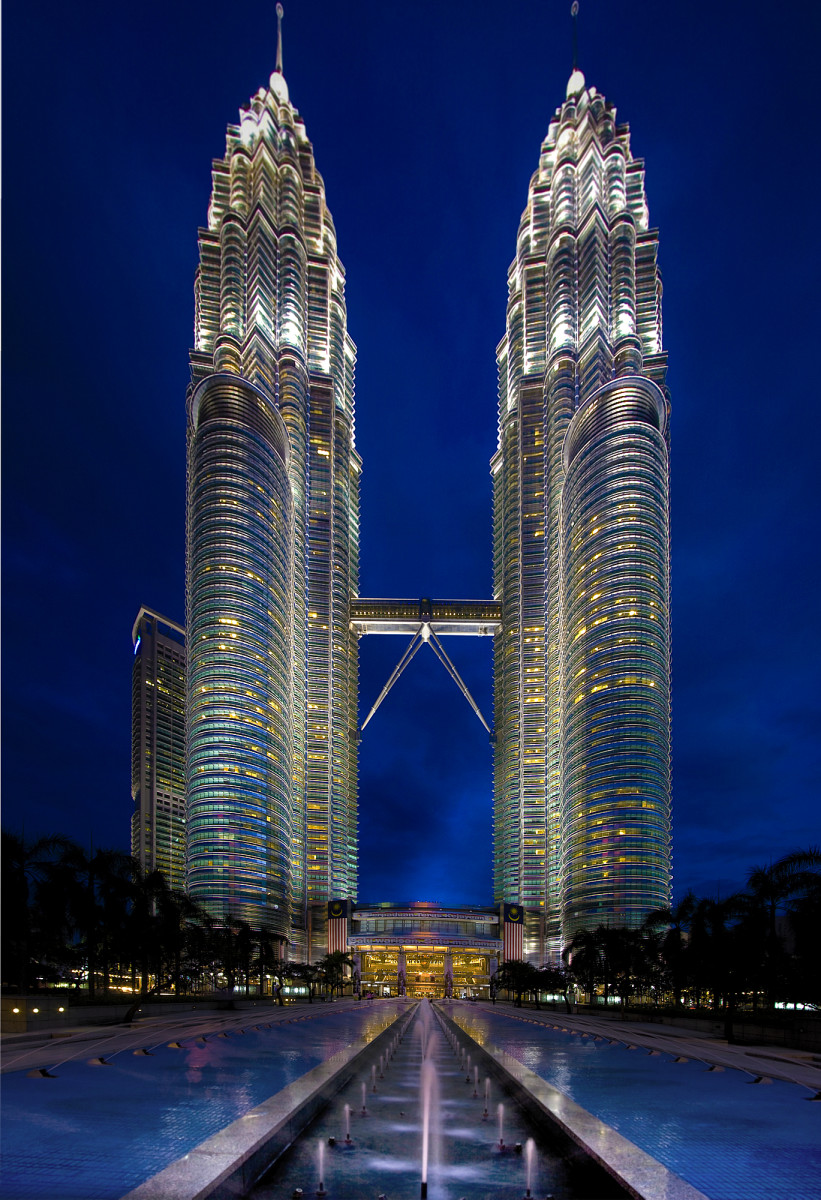The Petronas towers!