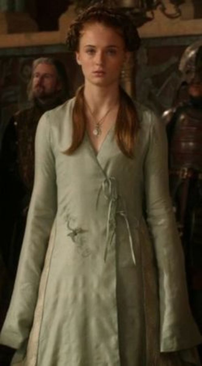 Sophie Turner as Sansa Stark, Game of Thrones Season 1