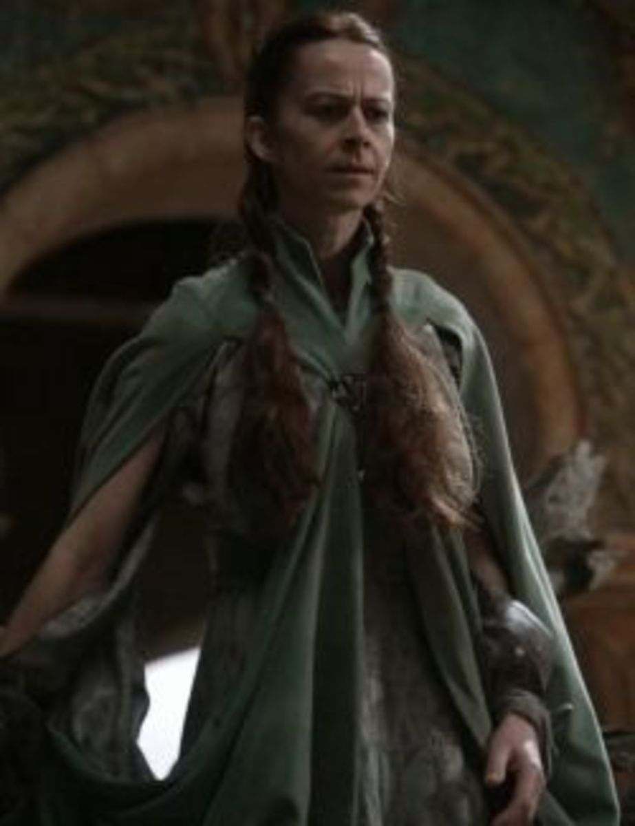 Kate Dickie as Lysa Arryn, Game of Thrones Season 1