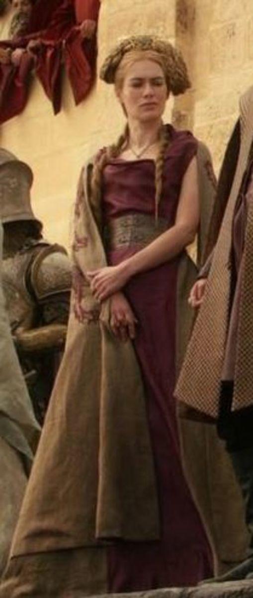 Lena Headey as Cersei Lannister, Game of Thrones Season 1
