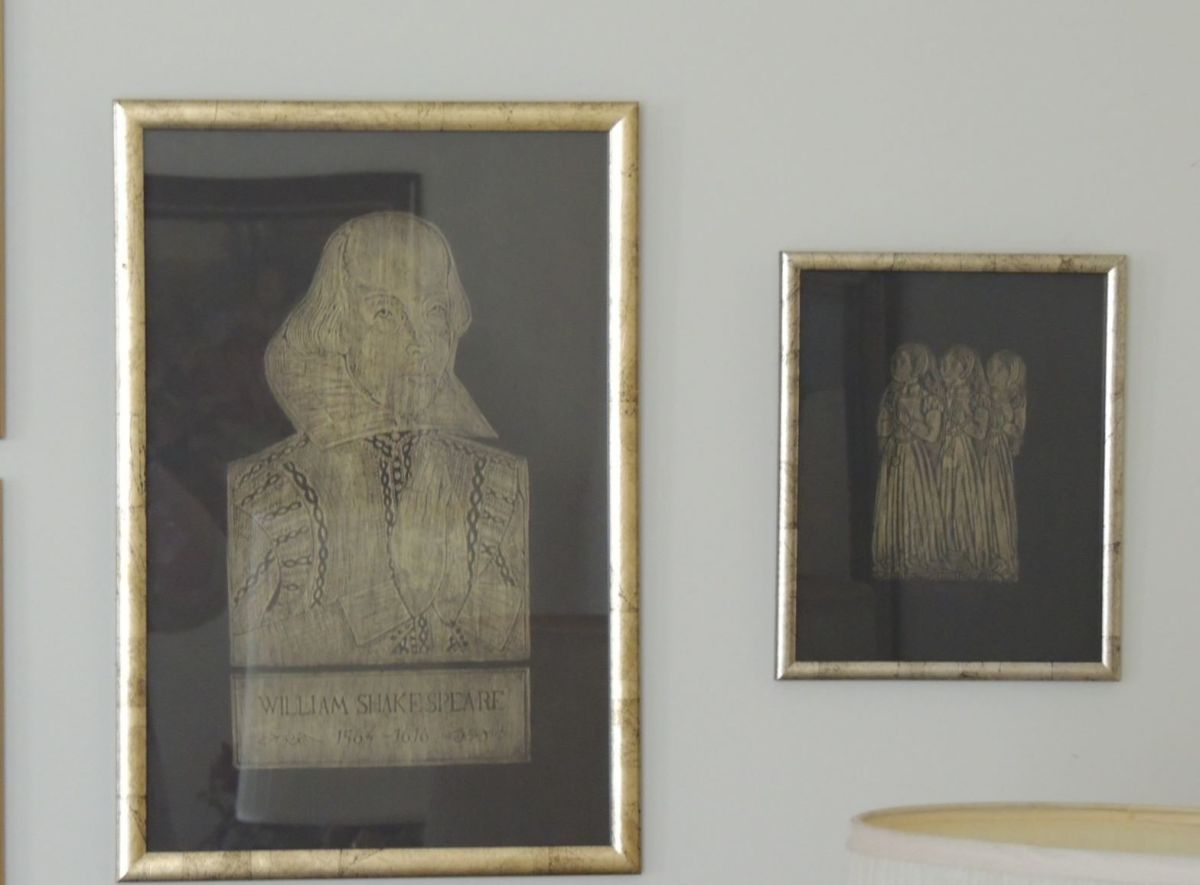 Brass rubbings I did at Westminster Abbey years ago when I was in London.