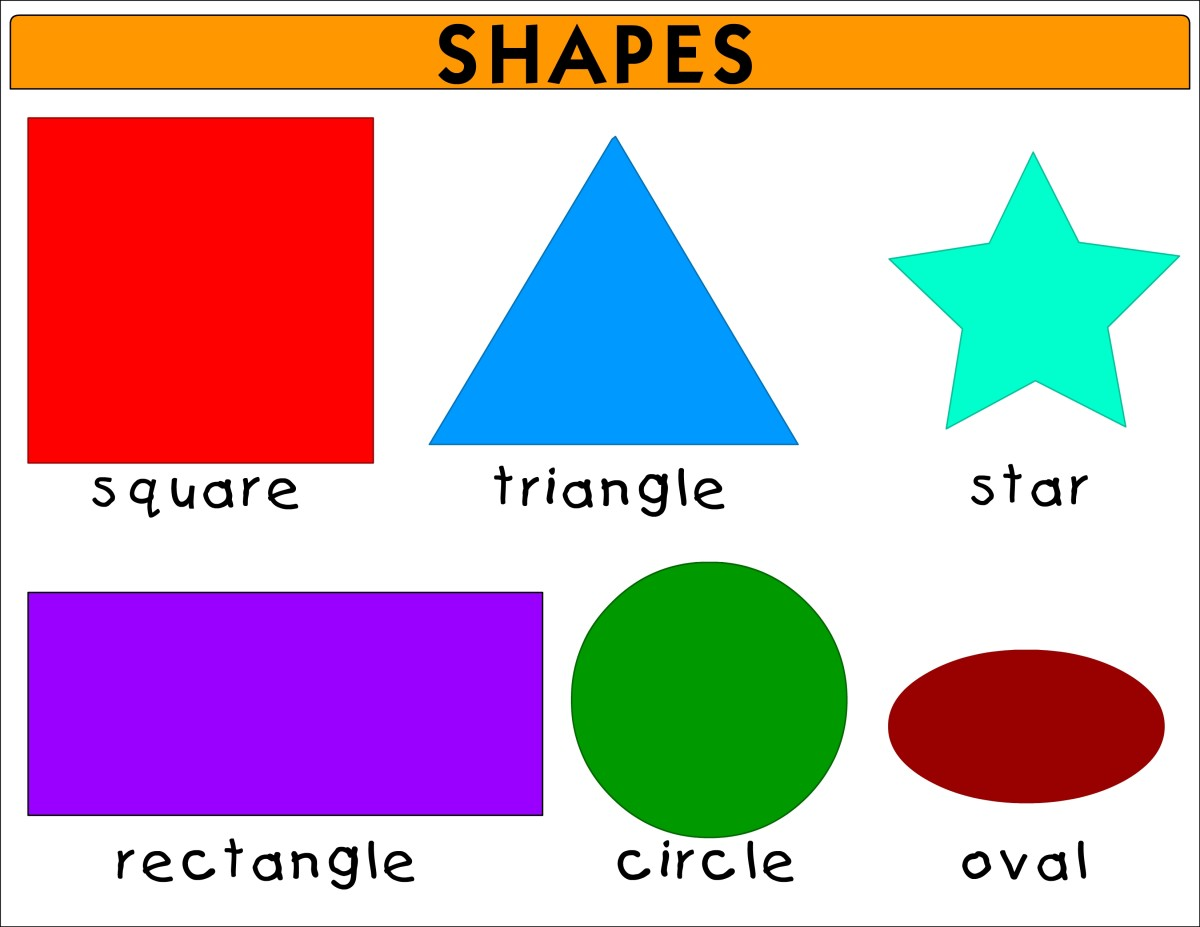 Teaching Shapes With Flashcards