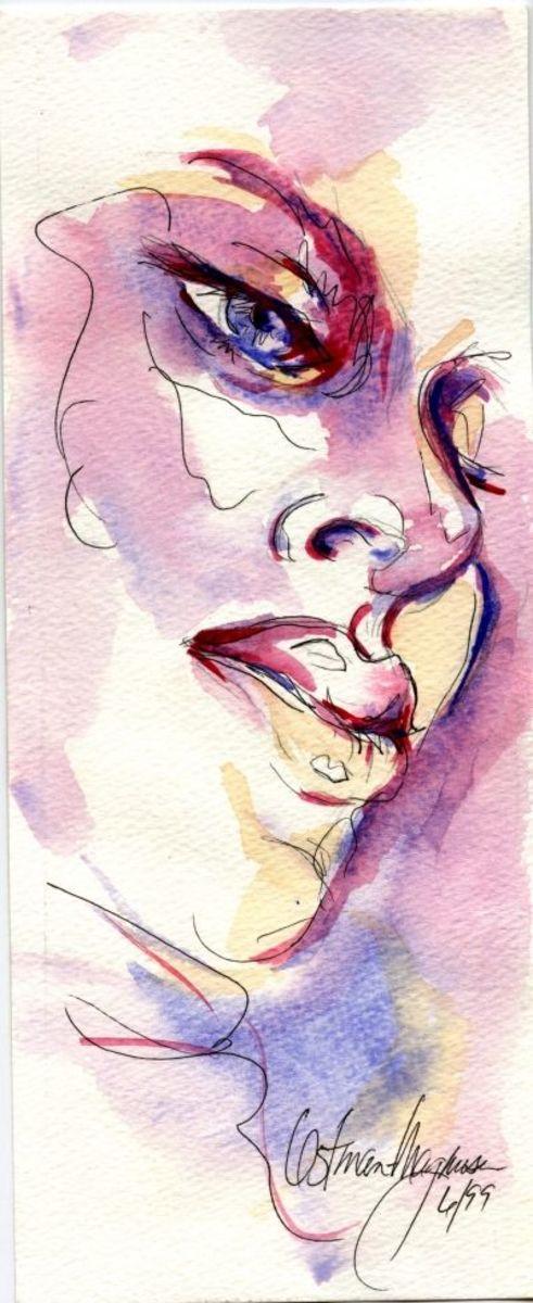 Watercolor by Kathy Ostman-Magnusen