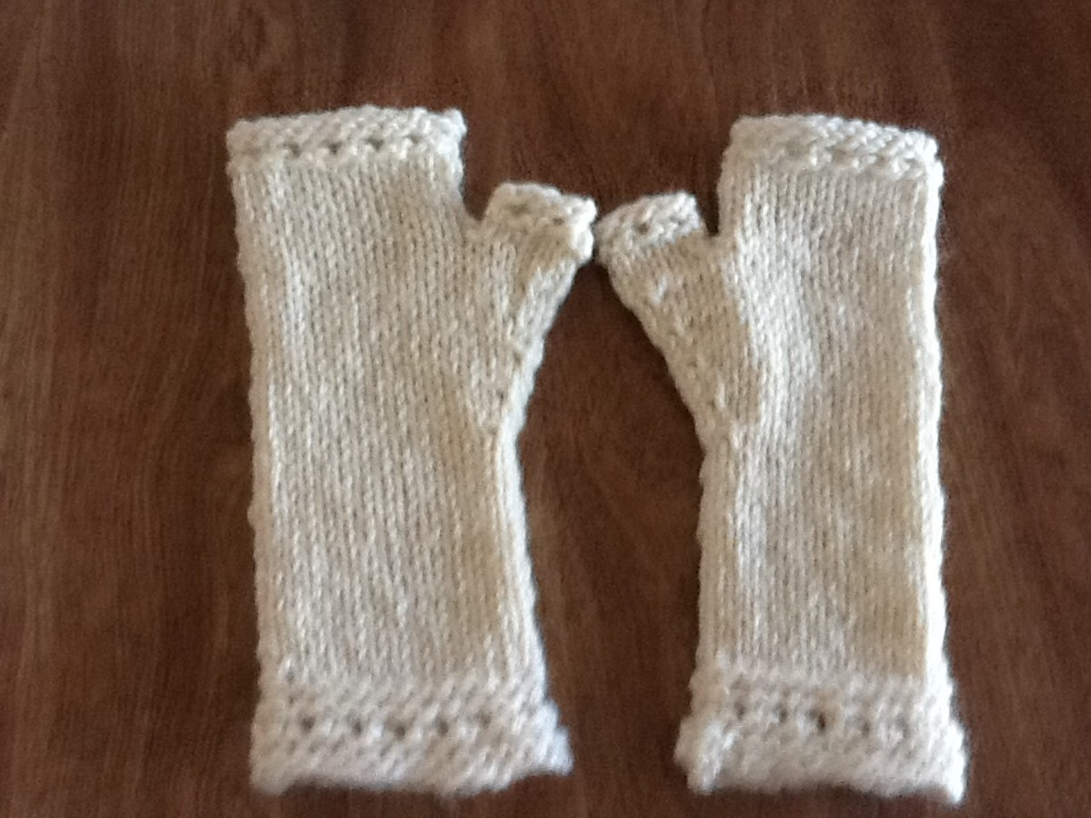 How Do I Block My Knit Mittens ?