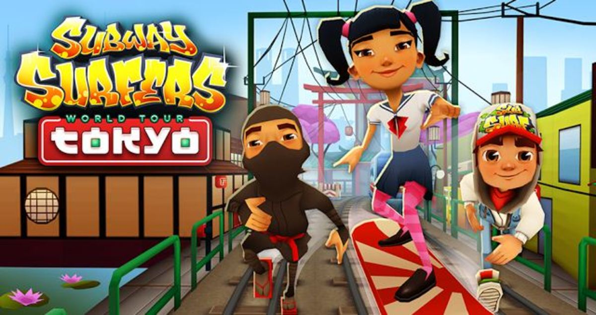 Subway Surfers Tokyo Review and Tips