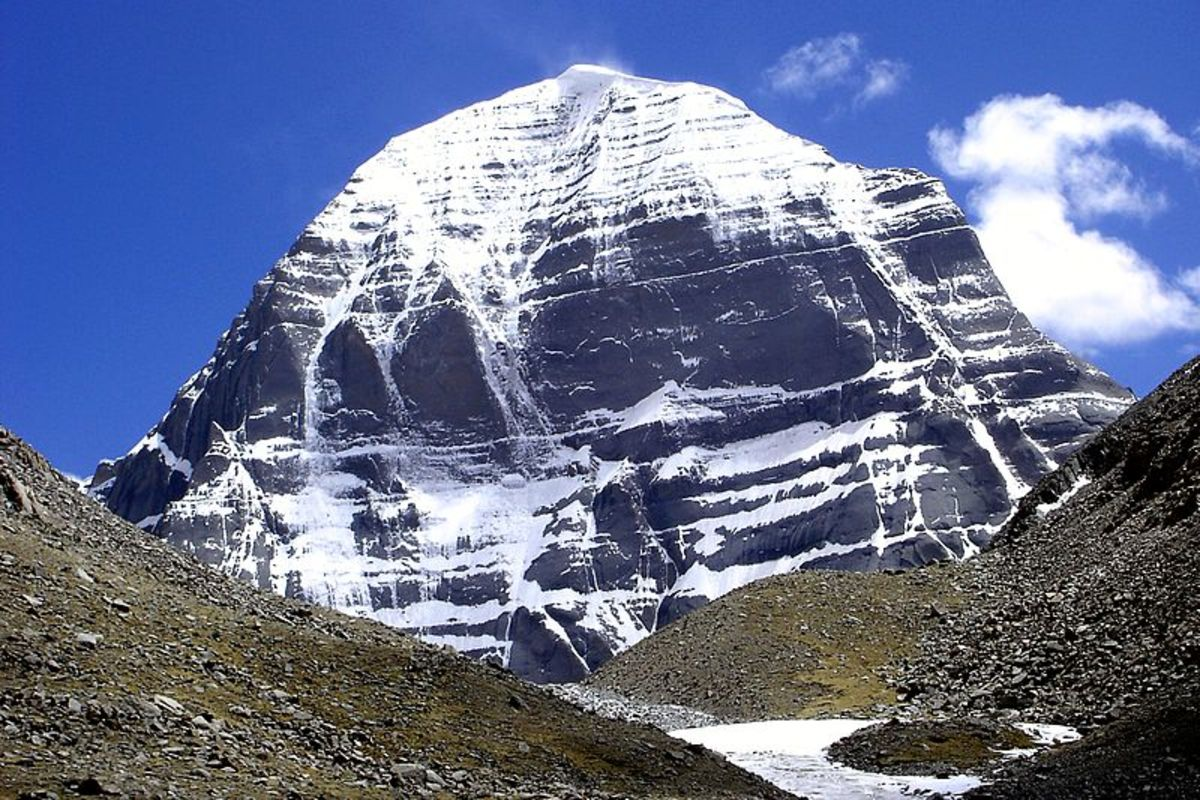 The Northernmost face of Mount Kalias