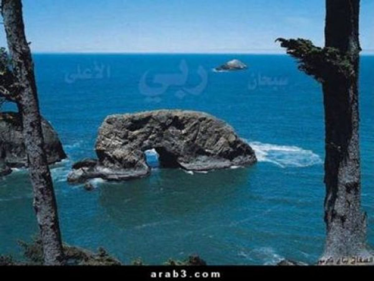 The rock in sajdah positon, natural Islamic miracle