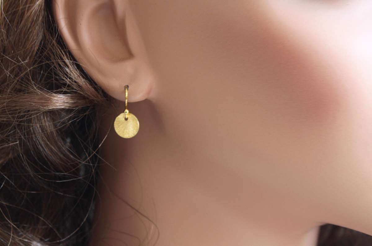 Start with a simple pair of earrings
