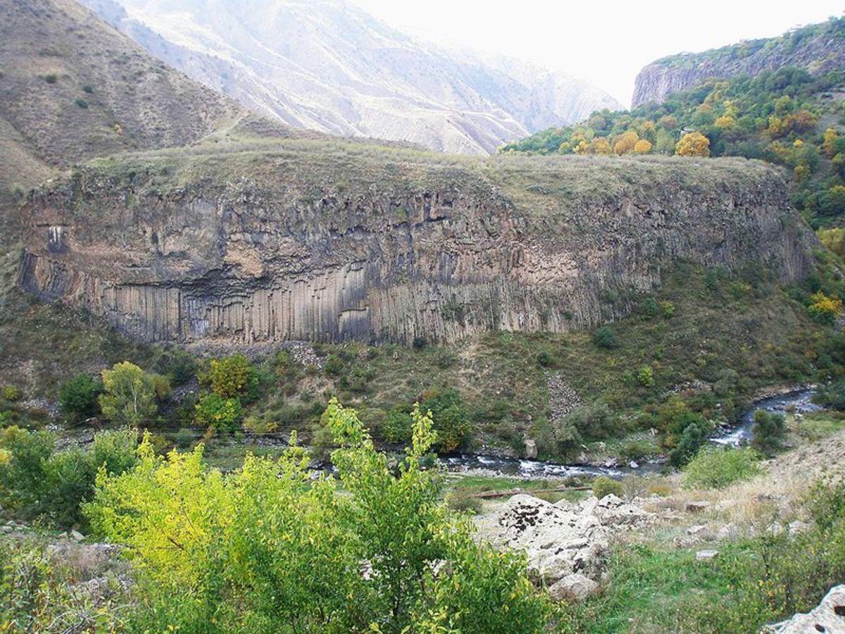 Garni Gorge, Armenia
