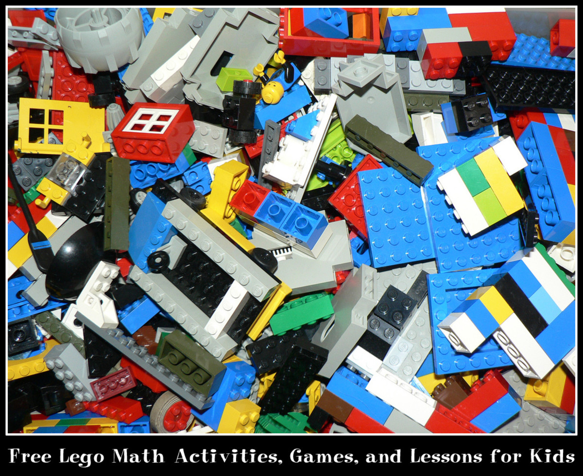 Free Lego Math Activities, Games, and Lessons for Kids