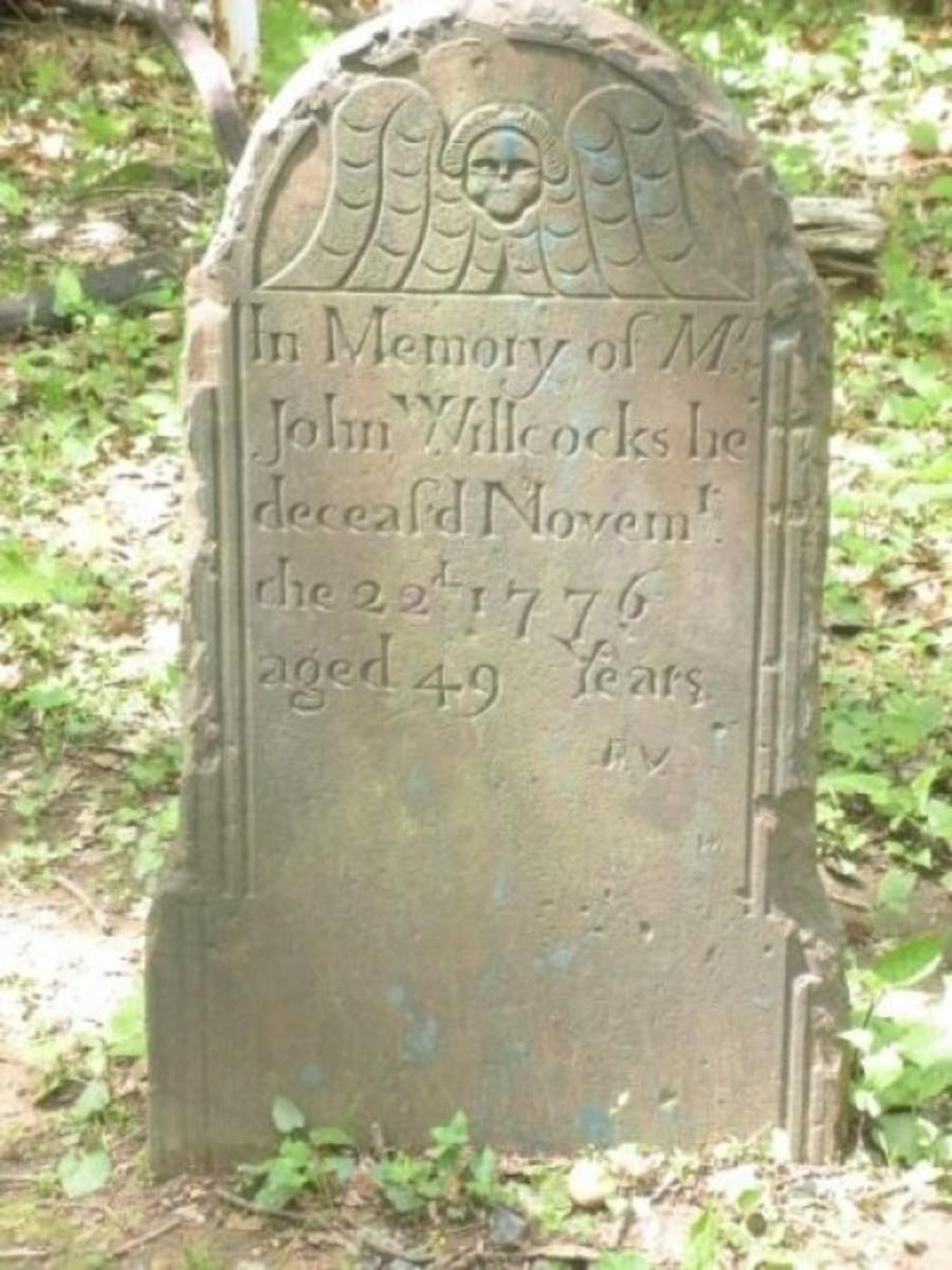 John Willcocks, Who Gave His Life in the Revolutionary War