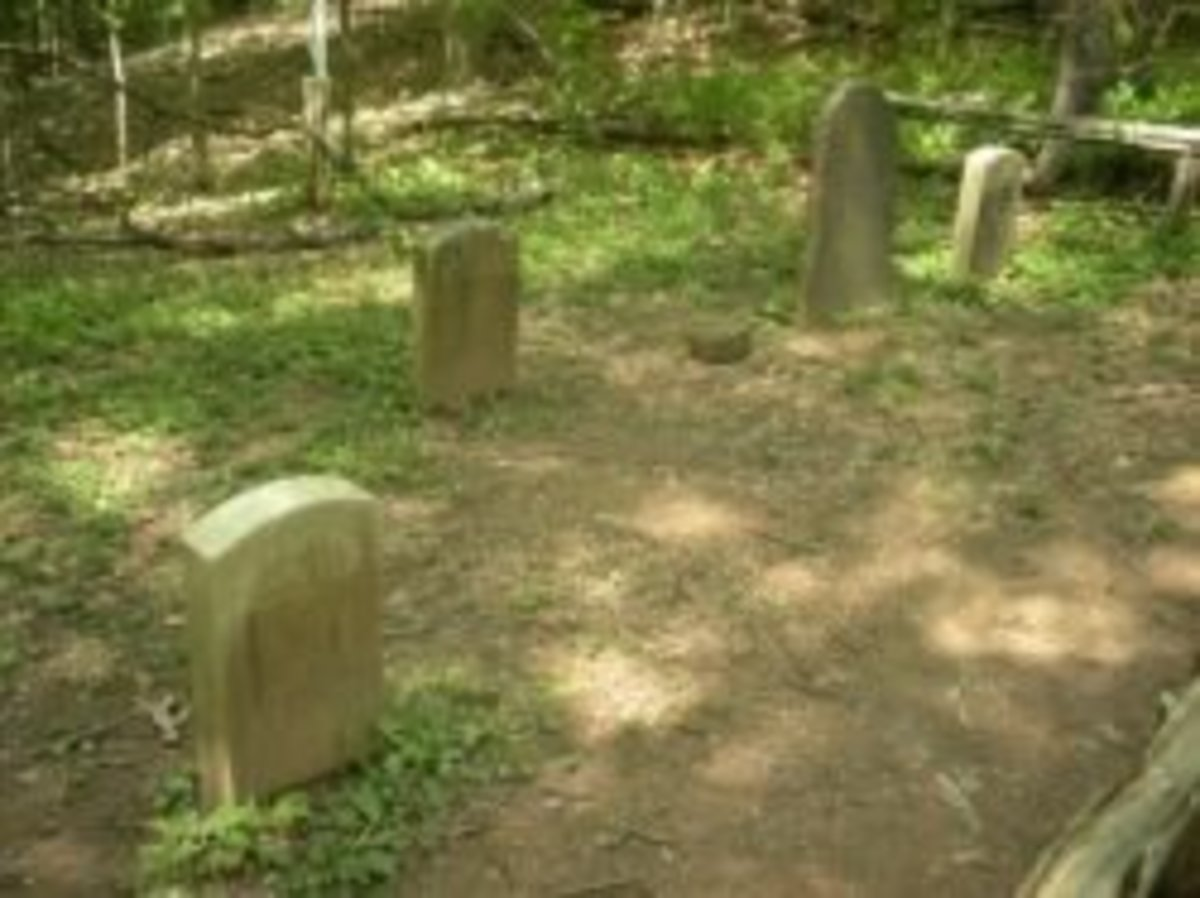 Deserted Village Feltville Graves
