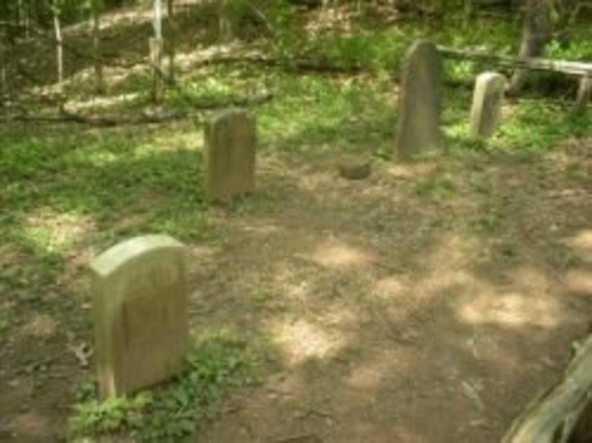 Deserted Village Feltville Graves