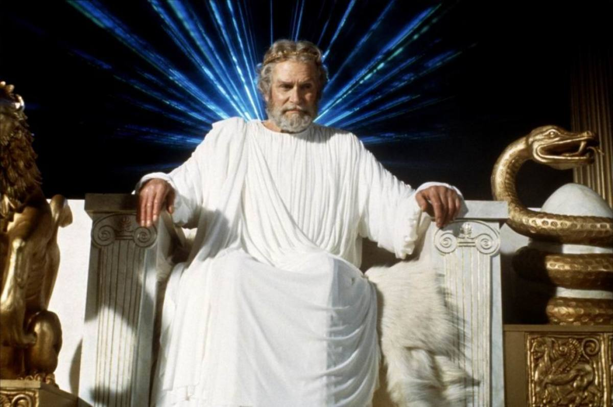 Laurence Olivier as Zeus in Clash of the Titans (1981)