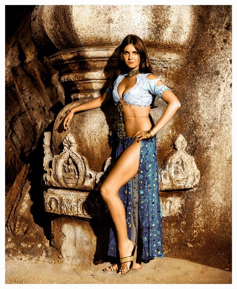 Carolyn Munro in The Golden Voyage of Sinbad (1973) Publicity Still