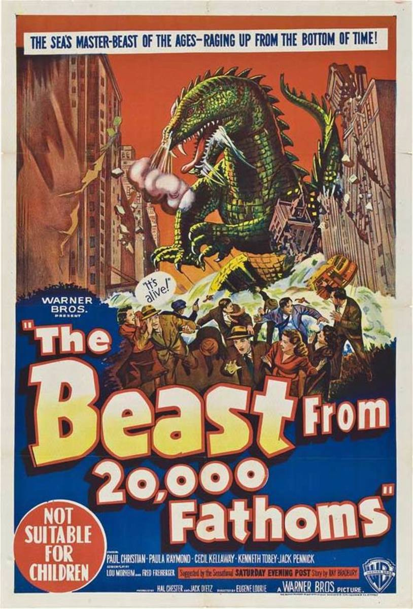 The Beast from 20,000 Fathoms (1953) poster