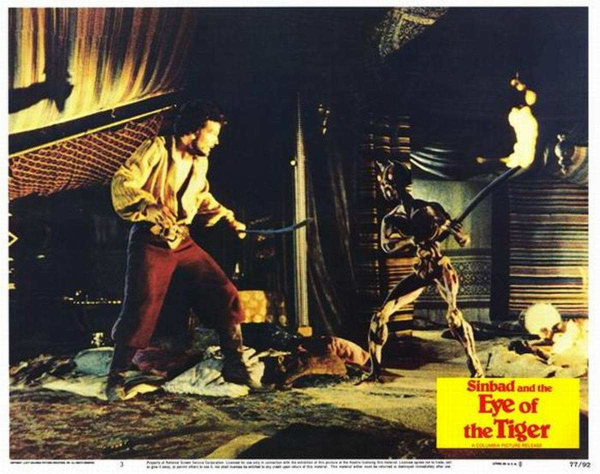 Sinbad and the Eye of the Tiger (1977) Lobby Card