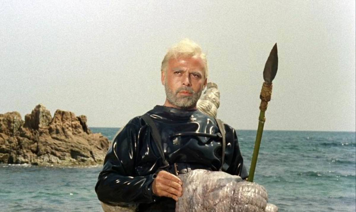 Herbert Lom as Nemo in Mysterious Island (1961)