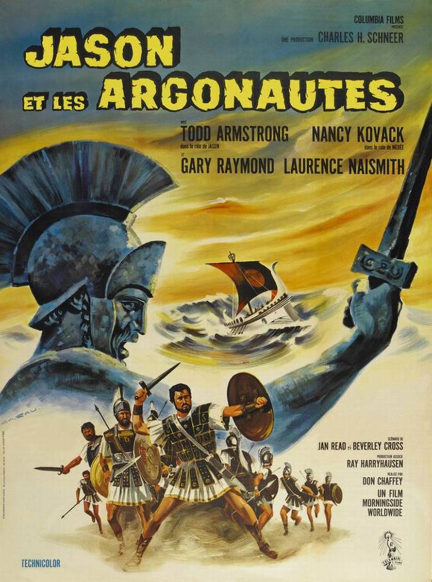 Jason and the Argonauts (1963) French poster
