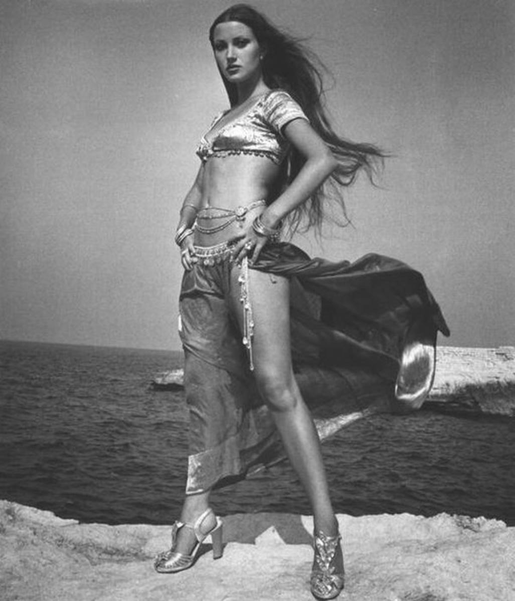 Jane Seymour in Sinbad and the Eye of the Tiger (1977) Publicity Still