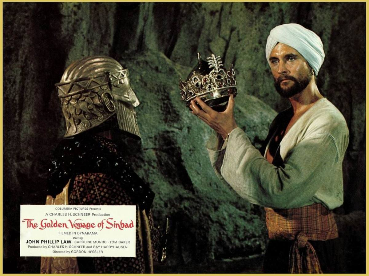 The Golden Voyage of Sinbad (1973) Lobby Card