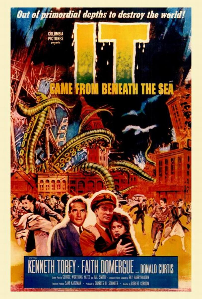 It Came from Beneath the Sea (1955) poster