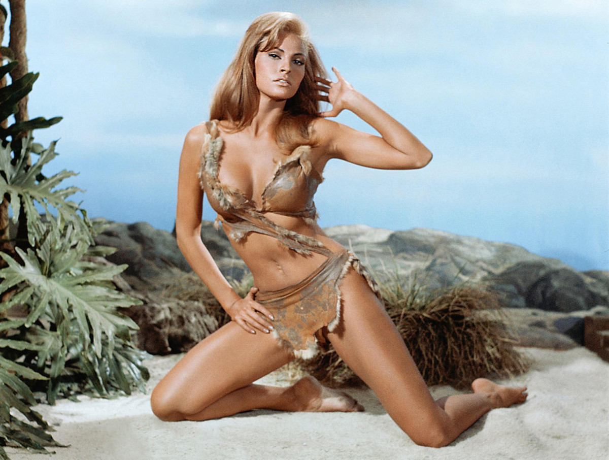 Raquel Welch in One Million Years BC (1966) Publicity Still