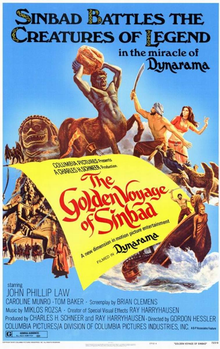 The Golden Voyage of Sinbad (1973) poster