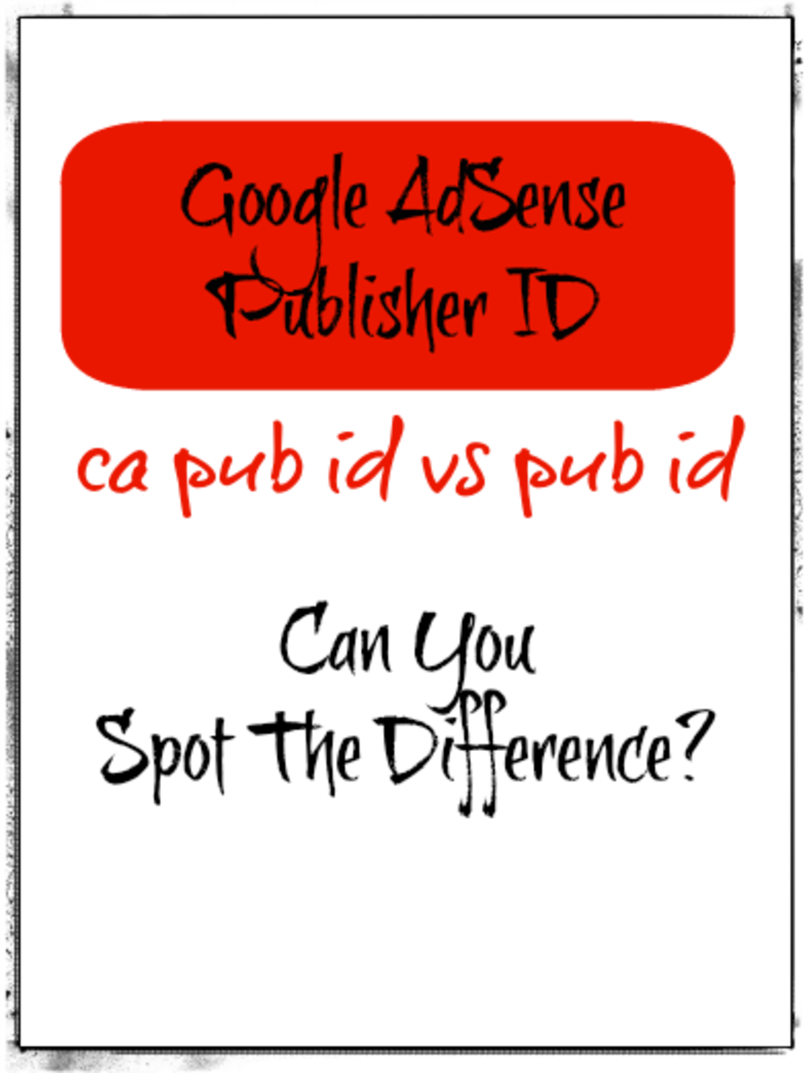 What Is The Difference Between ca-pub and pub AdSense Publisher ID?