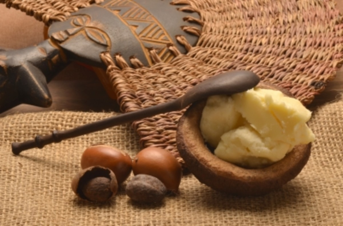 nourishing shea butter stems from the shea nut